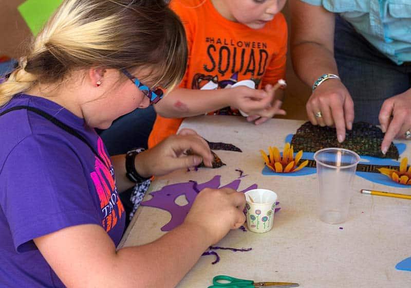 Fiesta de los Niños Mask Making