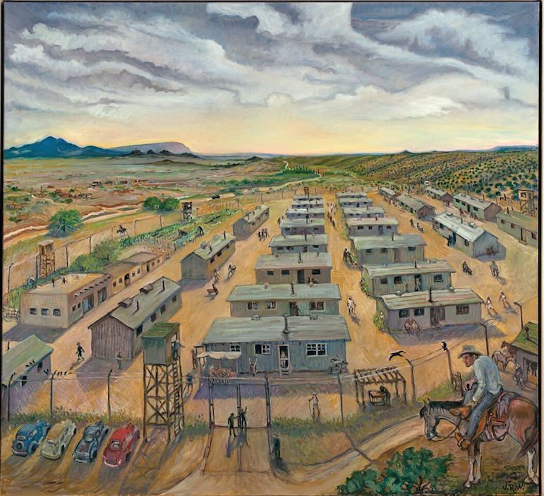 Jerry R. West, Japanese Internment Camp 2009