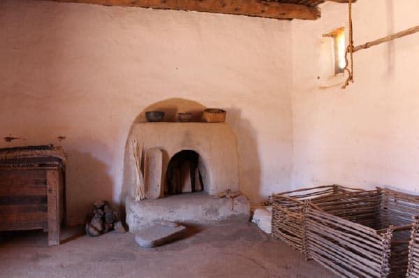 Golondrinas Placita, El Cuarto de los Cautivos y los Criado, The Captives' and Servants' Room