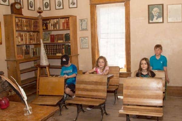 Raton Schoolhouse classroom