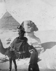 Eva Scott Fenyes in Egypt