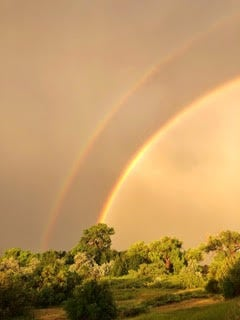 Rainbows in New Mexico